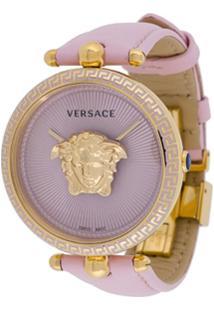 Versace Relógio 'Palazzo Empire' - Rosa