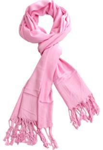 Lenço Real Arte Liso Rosa