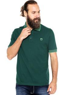 Camisa Polo Mr Kitsch Manga Curta 4505013 Verde