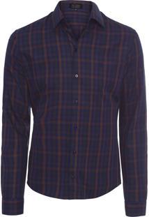 Camisa Masculina Sasc - Azul