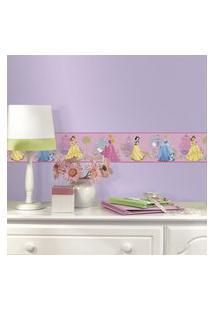 Adesivo De Parede - Princesas Disney Border - Roommates