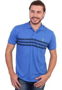 Camisa Polo Golf Club Listrada - Masculino