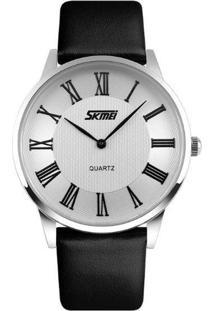 Relógio Skmei Analógico 9092 Branco