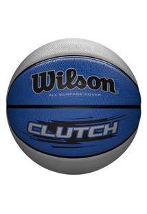 Bola De Basquete Wilson Clutch Azul
