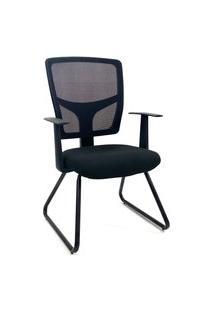 Cadeira Interlocutor Byartdesign Roma Preto