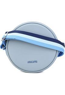 Bolsa Anacapri Mini Bag Pqn Bol Pvc Feminina - Feminino-Azul Claro