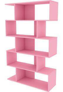 Estante Twister Quartzo Rosa Tcil Móveis