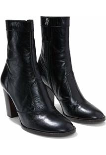 Marc Jacobs Bota The Ankle Boot - Preto