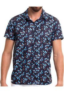 Summer Shirt - Blueberry