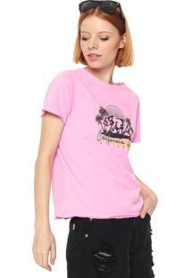 Camiseta Billabong Cali Rear Rosa