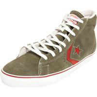 Tênis Converse All Star Pro Leather Vulc Hi Verde ff3b4a77d35