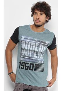 Camiseta Fatal Gola Careca Estampada Masculina - Masculino