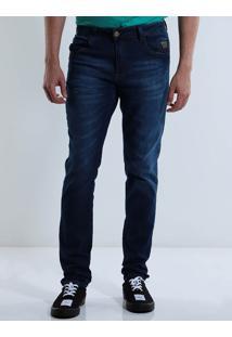 Calça Jeans Masculina Max Denim Bolso Smart