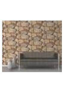Papel De Parede Adesivo Decoração 53X10Cm Bege -W21203