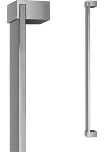 Puxador Para Porta Em Alumínio Concept Pca04 60Cm Polido