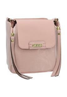 Bolsa Pequena Transversal Rosa Selten
