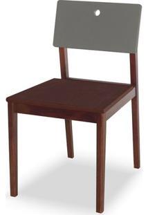 Cadeira Flip Cor Cacau Com Encosto Fendi - 31130 - Sun House