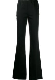 P.A.R.O.S.H. Flared Pull-On Trousers - Preto