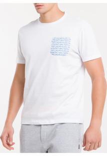 Camiseta M/C Algodão 1981 - Branco 2 - S
