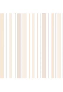 Papel De Parede Infantil Listras Bege (950X52)