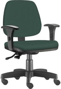 Cadeira Giratã³Ria Executiva Lyam Decor Job Verde Musgo - Verde - Dafiti