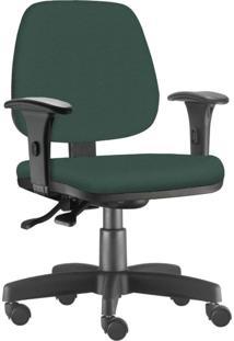 Cadeira Giratória Executiva Lyam Decor Job Verde Musgo