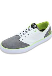 Tênis New Era Sneaker New Era Brasil Chumbo/Branco