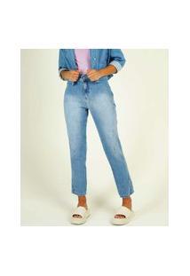 Calça Mom Jeans Feminina Cintura Alta Biotipo