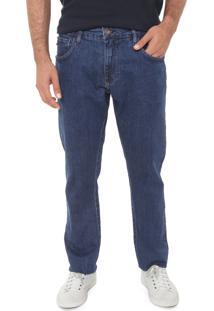 Calça Jeans Triton Reta Jonh Azul