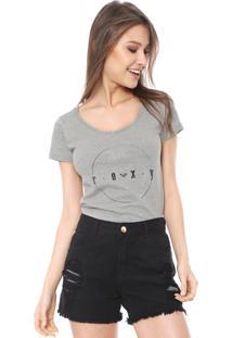 Camiseta Roxy All Ok Cinza