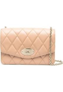 Mulberry Small Darley Chain-Strap Crossbody Bag - Rosa