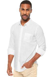 Camisa Osklen Bolsos Branca