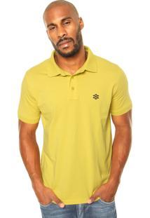 Camisa Polo Zebra Cone Amarela