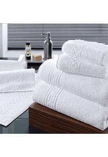 Toalha Banho Altenburg Soft Plus Branco - 80Cm X 1,60M Branco