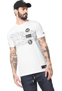 Camiseta New Era Warriors Branca