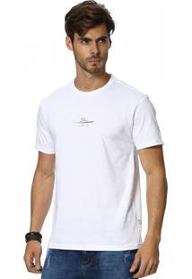 Camiseta Vlcs Slim Fit Litoranea Branca
