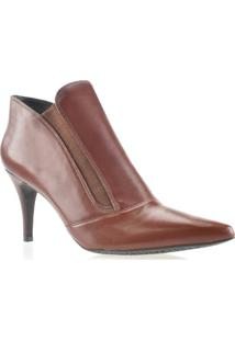Bota Feminina Ankle Boot Milano Luz Da Lua S61211