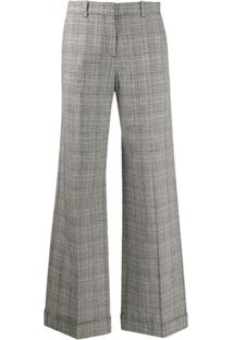 Ps Paul Smith Calça Pantalona Xadrez - Preto