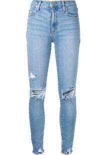 Nobody Denim Calça Jeans Skinny 'Cult' - Azul