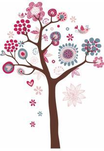 Adesivo De Parede Balihai Stickers 160X123 Color Tree Multicolorido
