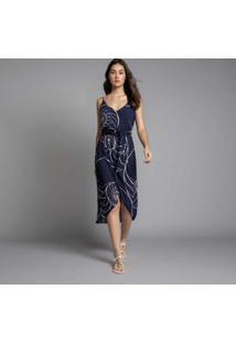 Vestido Mídi Transpassado Queensland - Lez A Lez