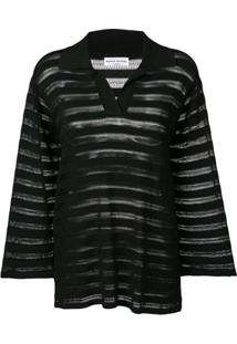 Sonia Rykiel Loose-Fit Blouse - Preto