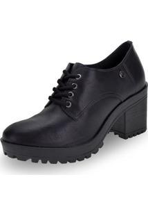 Sapato Feminino Oxford Via Marte - 196506 Preto 34