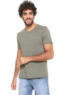 Camiseta Hering Mescla Verde