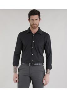 Camisa Comfort Preta