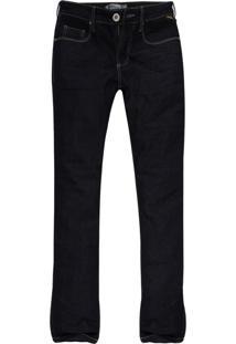 Calça Jeans Khelf Reta Stretch Azul