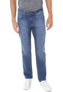 Calça Jeans Aramis Slim Prespontos Azul