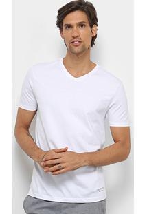 Kit 2 Peças Camiseta Calvin Klein Meia Malha Masculina - Masculino