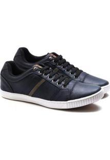 Sapatênis Ped Shoes Fehamento Em Elástico Masculino - Masculino-Azul Escuro