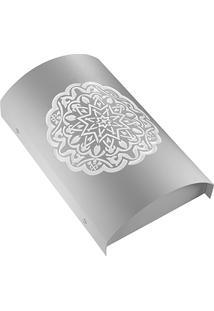 Arandela Em Aço Arco Alhambra Branca 6000K Luz Branca Bivolt